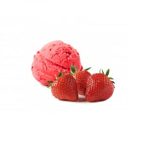 gelato alle fragole